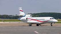 Belgium Air Force Falcon 7X visited Ostrava during crew training title=