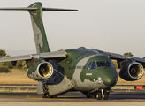 Brazilian AF Embraer KC-390 makes a stop in Valencia on route to Beirut title=