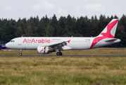 Air Arabia Maroc A320 visited Weeze title=