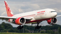 Air India Boeing 777 made a repatriation flight from Glasgow title=