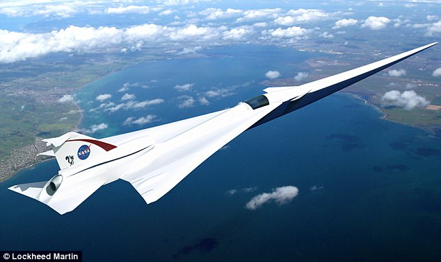 NASA is backing plans to return to supersonic flight, with its Quiet Supersonic Transport (QueSST) low-boom flight demonstrator aims to produce a much lower