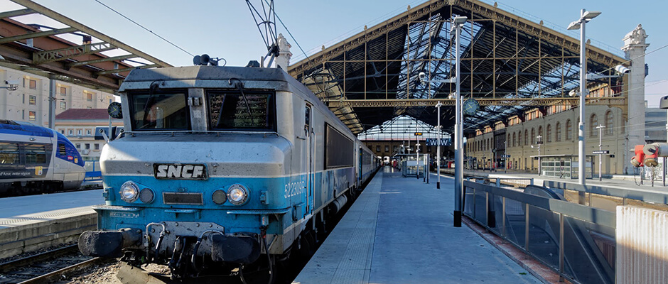 Marseille Airport train