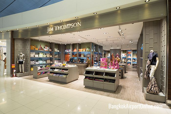 Jim Thompson Suvarnabhumi Airport Duty Free