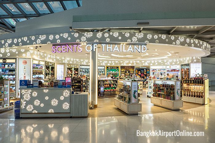 Scents of Thailand at Bangkok Airport