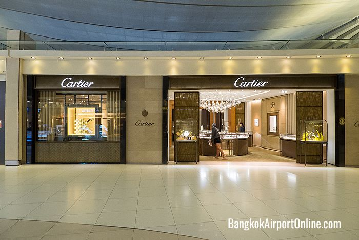 Bangkok Airport Luxury Shopping