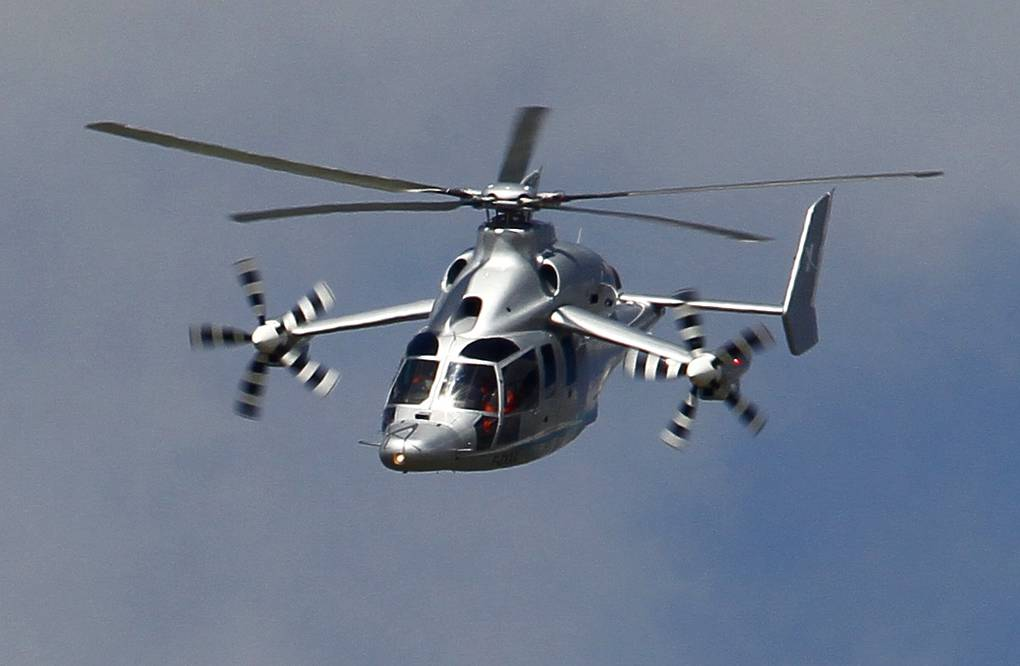 Eurocopter X3 AP Photo/Francois Mori