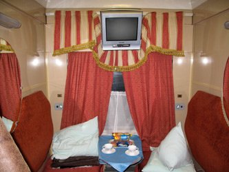2-berth first class compartment on the